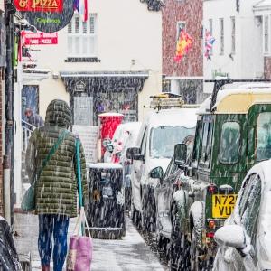 Snow in Wallingford Street, Wantage