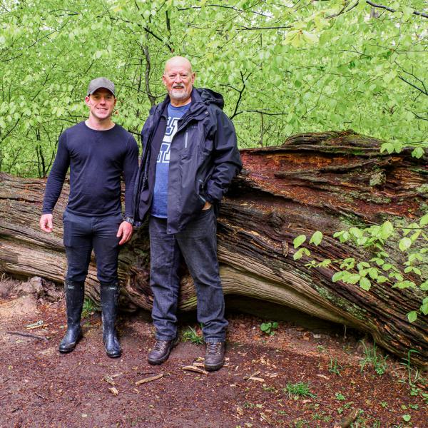 Rob and Howard