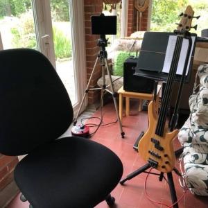 John Tranter streaming the Slow Session