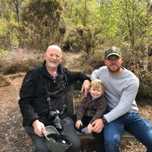 Three generations of Hills