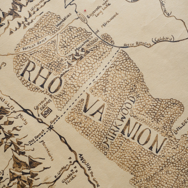 LOTR map detail